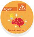 Icone Pense Positivo