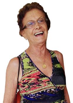 <strong>Áurea Amaral, 79 anos</strong> - SUPERA Araraquara - SP