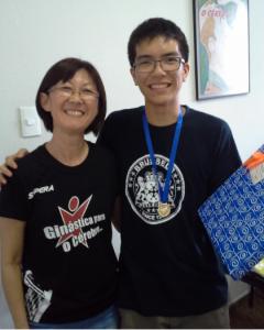 Emerson Kazuhiro foi aprovado em quatro universidades