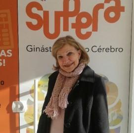 Helenir T Zambaldi Fabricio tem 72 anos e é muito vaidosa. Ela é aluna do SUPERA Curitiba Santa Felicidade (PR)