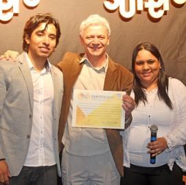 Antônio Carlos Perpétuo, presidente fundador do SUPERA, recebe Selo da ABG
