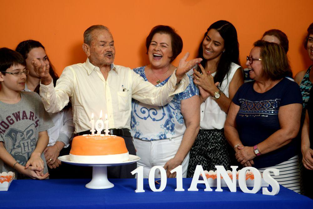 Aluno veterano: 101 anos
