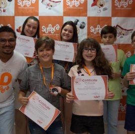 Alunos de Tangará da Serra comemoram participação na Olimpíada de Ábaco 2017