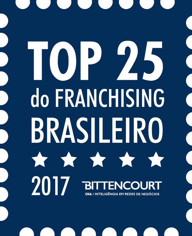 TOP 25 do Franchising Brasileiro 2017 - Bittencourt