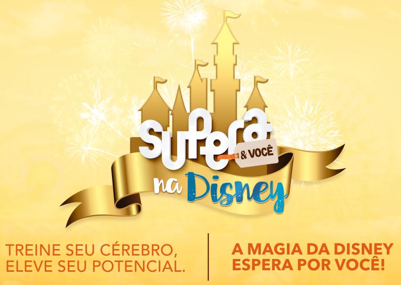 SUPERA sorteia cinco viagens para a Disney