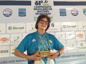 Aluna SUPERA quebra recorde brasileiro de natação - SUPERA - Ginástica para o Cérebro