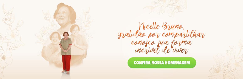 Nicette Bruno gratidão por compartilhar conosco sua forma incrível de viver