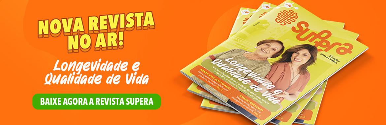 Banner Revista Supera 8 Longevidade e Qualidade de Vida