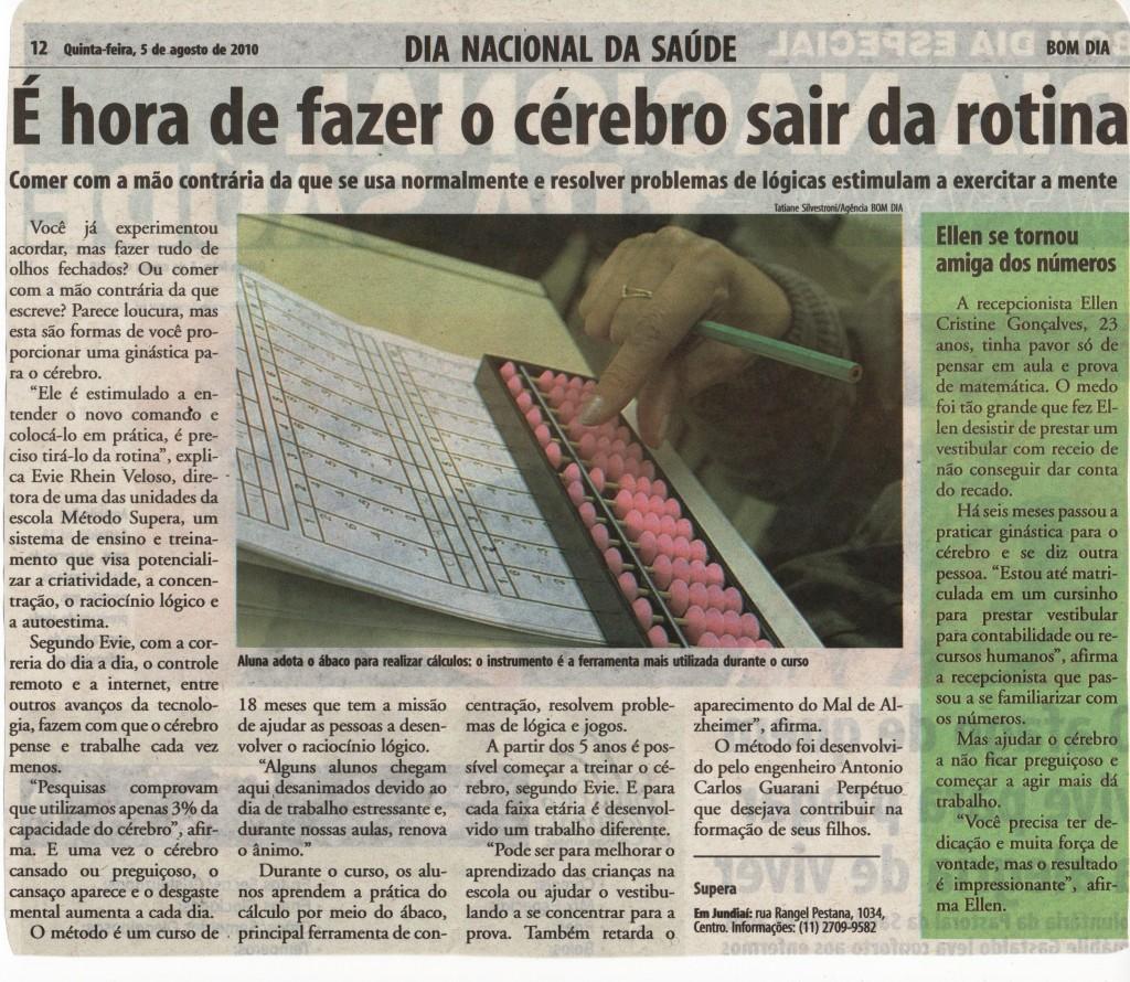 Escola Supera Jundiaí explica o método para imprensa local    - SUPERA - Ginástica para o Cérebro