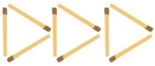 Palitos e triangulo