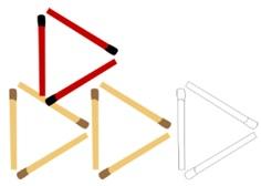 Triangulo e palito