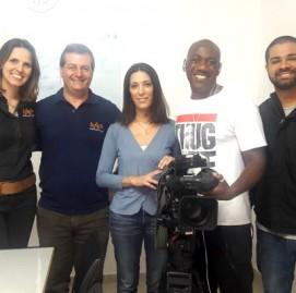 Gravação do programa na unidade SUPERA em Pirituba, São Paulo
