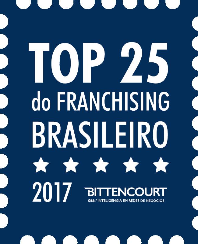 TOP 25 do Franchising Brasileiro 2017 - Bittencourt