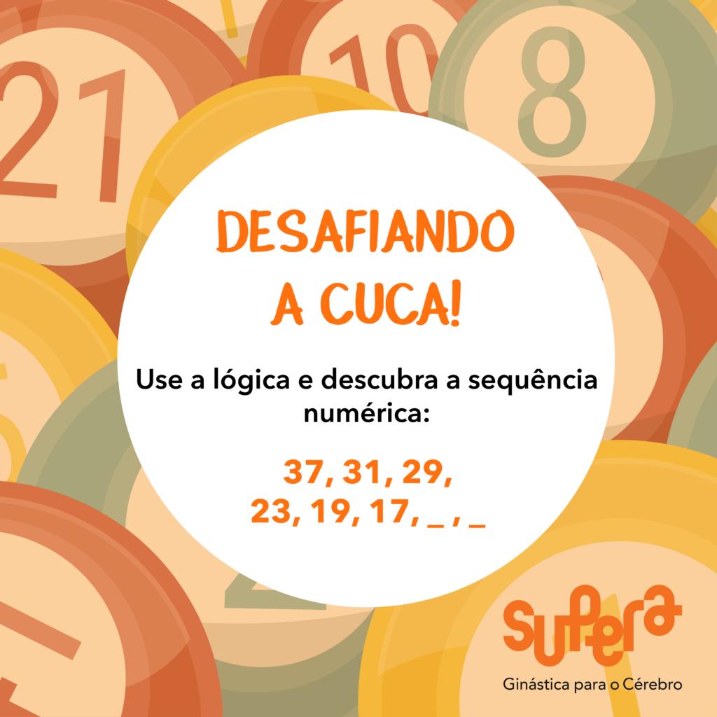 Descubra a sequência numérica