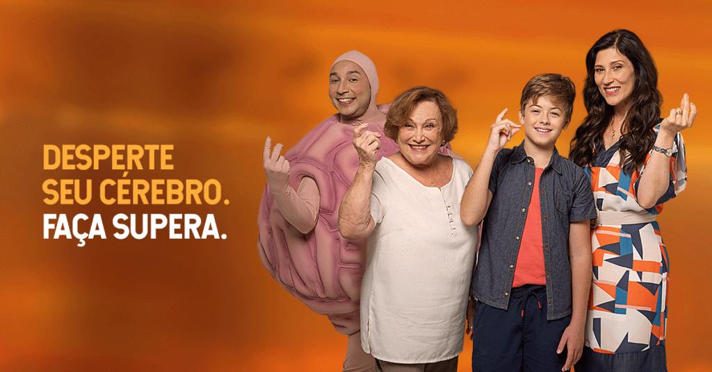 SUPERA lança campanha com Nicette Bruno e Beth Goulart - SUPERA - Ginástica para o Cérebro