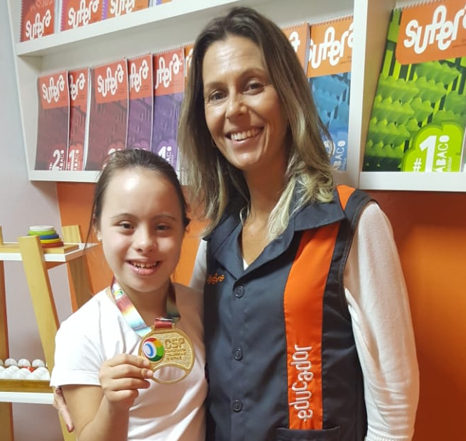 Aluna SUPERA conquista 1º lugar em Campeonato Sul-Americano de Patinação - SUPERA - Ginástica para o Cérebro