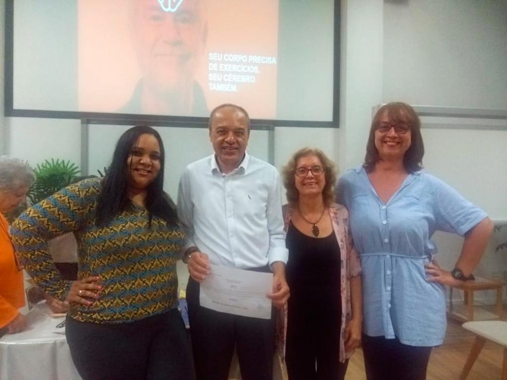 SUPERA participa de encontro com Associação Brasileira de Alzheimer - SUPERA - Ginástica para o Cérebro