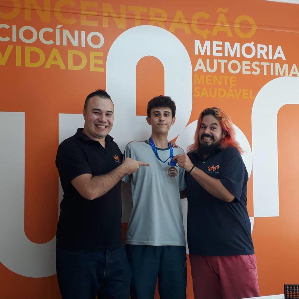 Aluno SUPERA é campeão em Olimpíada Internacional de Matemática - SUPERA - Ginástica para o Cérebro