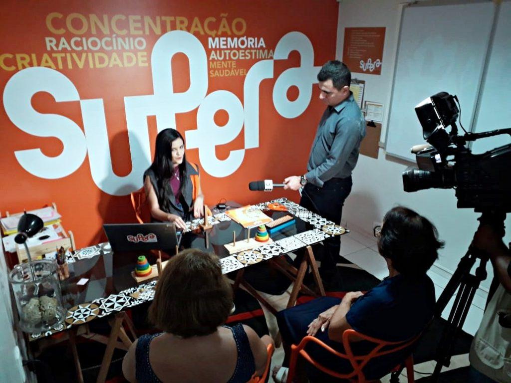 SUPERA bate recorde histórico de inserções na mídia - SUPERA - Ginástica para o Cérebro