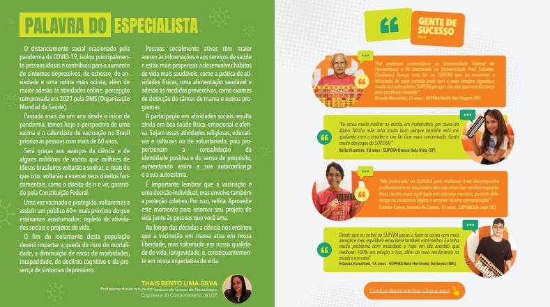 SUPERA lança nova revista com versão digital gratuita - SUPERA - Ginástica para o Cérebro