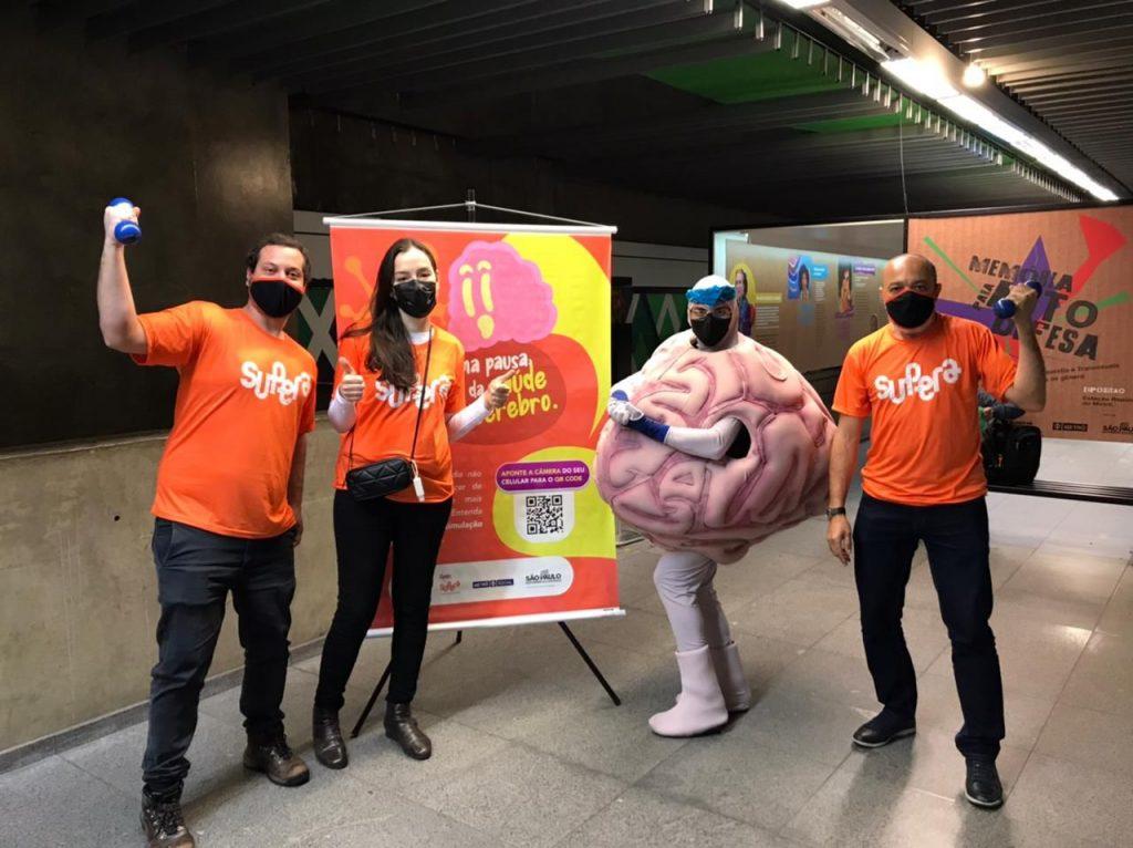 Mês de conscientização à doença de Alzheimer: SUPERA realiza ação inédita nos metrôs do Brasil - SUPERA - Ginástica para o Cérebro
